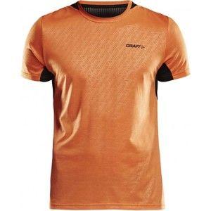 Craft BREAK SS TEE ONE oranžová XL - Pánské funkční triko