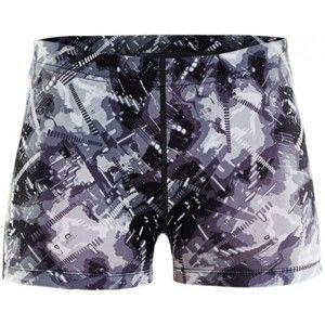 Craft EAZE HOT TIGHTS W bílá S - Dámské běžecké krátké kalhoty