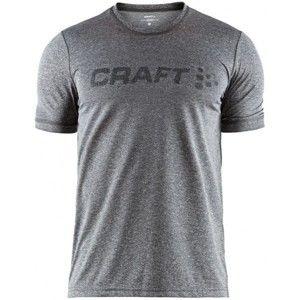 Craft EAZE SS TEE M černá S - Pánské funkční triko