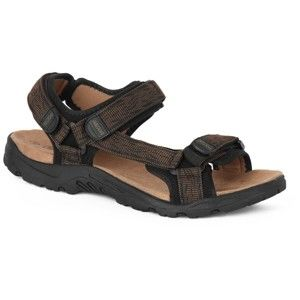 Crossroad MADDY hnědá 45 - Pánské sandály