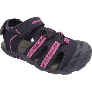 Crossroad MILL fialová 31 - Dětské sandály