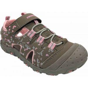 Crossroad MUGEN šedá 29 - Dětské sandály