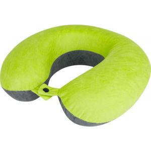 Crossroad SANDMAN zelená NS - Cestovní polštářek za krk