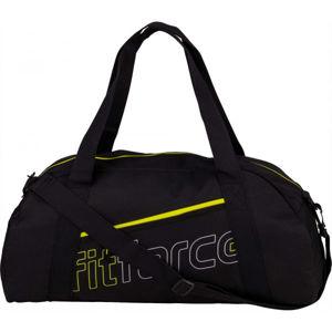 Fitforce AMAROK černá UNI - Dámská sportovní taška