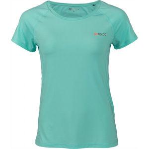 Fitforce JULIET modrá XS - Dámské fitness triko
