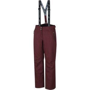 Hannah DAMIR vínová 38 - Dámské lyžařské kalhoty