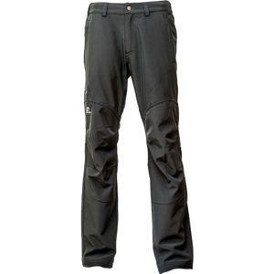 Hannah MB-PANT černá L - Pánské softshellové kalhoty