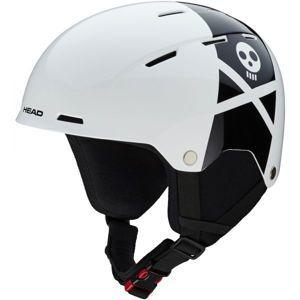 Head TAYLOR REBELS bílá (52 - 55) - Juniorská lyžařská helma