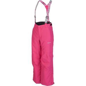 Head BETO růžová 140-146 - Dětské zimní kalhoty