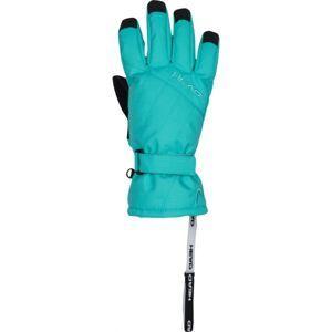 Head PAT zelená 8-10 - Dětské lyžařské rukavice