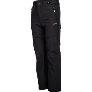 Head ZAVID černá 140-146 - Dětské softshellové kalhoty