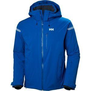 Helly Hansen SWIFT 4.0 JACKET modrá S - Pánská lyžařská bunda