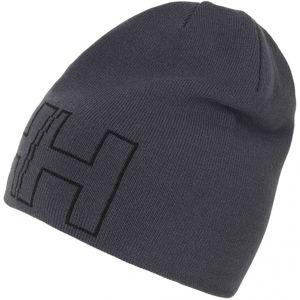 Helly Hansen OUTLINE BEANIE tmavě šedá  - Zimní čepice