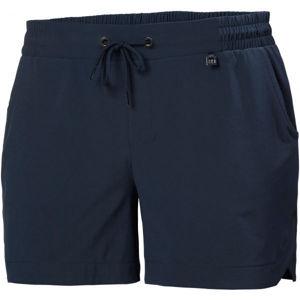 Helly Hansen THALIA 2 SHORTS tmavě modrá L - Dámské šortky