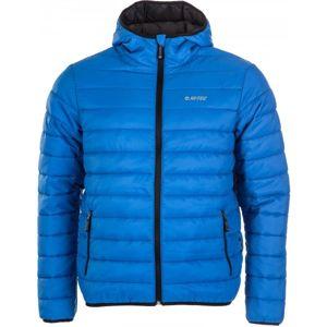 Hi-Tec AGNAR modrá S - Pánská lehká prošívaná bunda