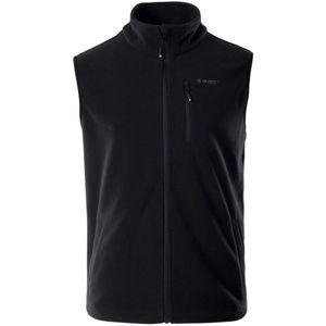 Hi-Tec NALUM černá M - Pánská fleecová vesta