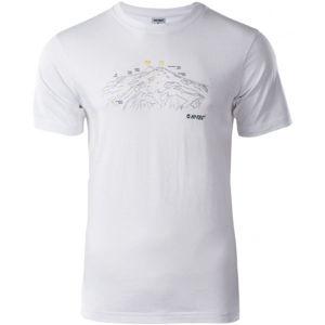 Hi-Tec NERET bílá XL - Pánské triko