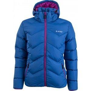 Hi-Tec NEW LADY CHIOS modrá S - Dámská lehká prošívaná bunda