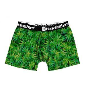 Horsefeathers SIDNEY BOXER SHORTS zelená XL - Pánské boxerky