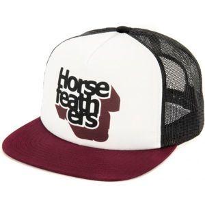 Horsefeathers CRAPS CAP bílá  - Pánská truckerka