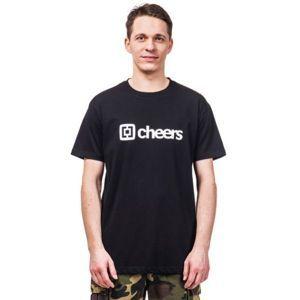 Horsefeathers SKAL T-SHIRT černá XL - Pánské tričko