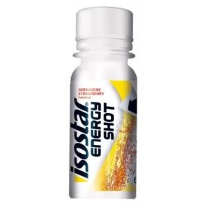 Isostar ENERGY SHOT 60ML GR. STRAWBERRY bílá NS - Energy shot