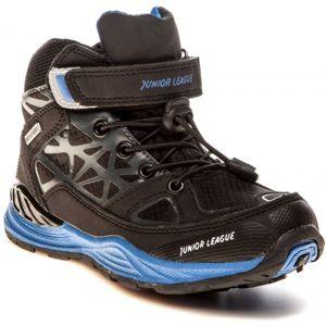Junior League AUD černá 29 - Dětská vycházková obuv