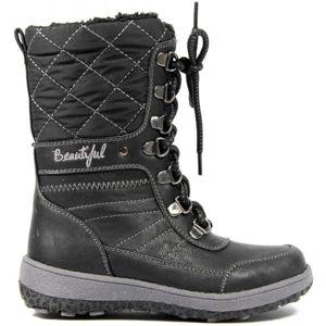 Junior League JESSE černá 29 - Dětská zimní obuv