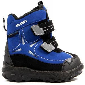 Junior League THÓR modrá 19 - Dětská zimní obuv