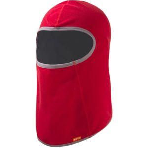 Kama DB16 KUKLA DĚTSKÁ červená UNI - Dětská elastická kukla z tenkého fleeceu