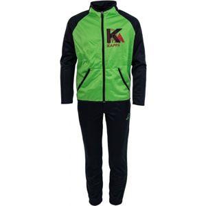 Kappa BARTOLO zelená M - Dětská tepláková souprava