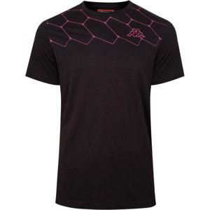 Kappa LOGO AREBO černá L - Pánské tričko