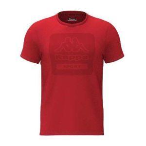 Kappa LOGO BARTEL SLIM červená L - Pánské triko