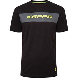 Kappa LOGO CABAXX černá XL - Pánské triko
