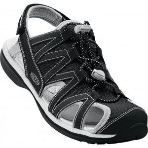 Keen SAGE SANDAL W černá 8.5 - Dámské vycházkové sandále