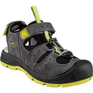 Keen BALBOA EXPY šedá 7 - Dětské sandály