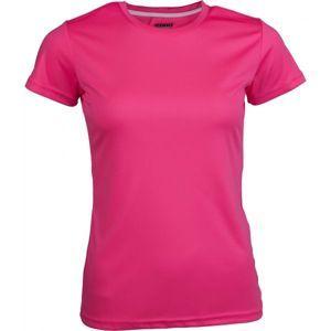 Kensis VINNI růžová M - Dámské sportovní triko