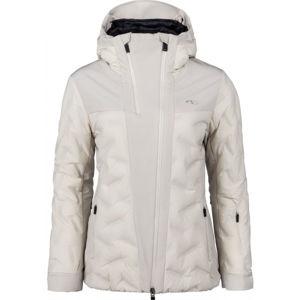 Kjus WOMEN ELA JACKET bílá 38 - Dámská lyžařská bunda