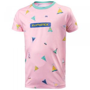 Klimatex ELILO růžová 158 - Dětské triko