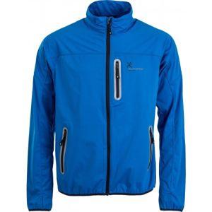 Klimatex ROBE modrá S - Pánská softshellová bunda