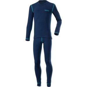 Klimatex ROKI modrá 122 - Set dětského funkčního prádla
