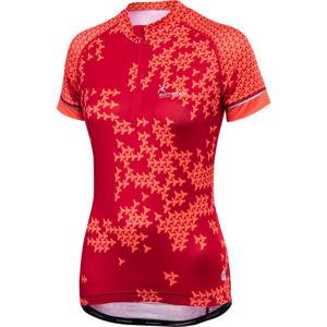 Klimatex TILLY červená XL - Dámský cyklistický dres