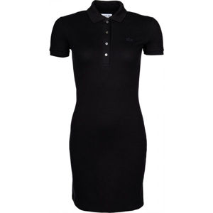 Lacoste CLASSIC POLO DRESS černá XS - Dámské šaty