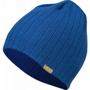 Lewro ARTICUNO modrá 13-15 - Chlapecká pletená čepice