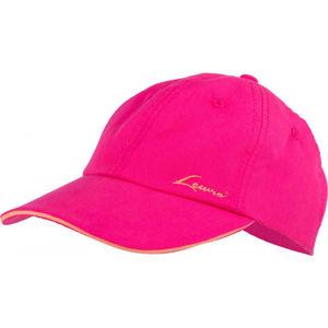Lewro ELONZO růžová 8-11 - Dětská kšiltovka