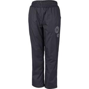 Lewro GILBERTO růžová 116-122 - Dětské zateplené kalhoty