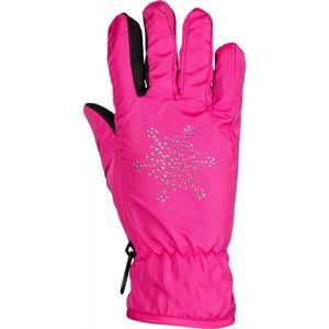 Lewro NEA černá 4-7 - Dívčí rukavice
