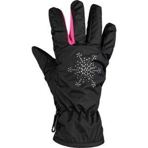 Lewro NEA tmavě modrá 8-11 - Dívčí rukavice