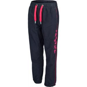 Lewro SORES růžová 152-158 - Dětské plátěné kalhoty