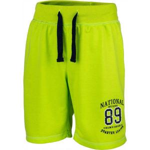 Lewro THIAN zelená 164-170 - Chlapecké šortky